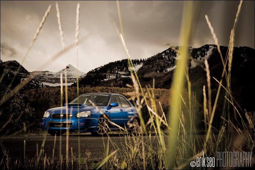 Julian Fohrman's Subaru WRX STI at Mt. Timpanogas, Utah