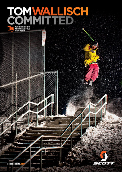 November Freeskier - Scott Ad - Tom Wallisch