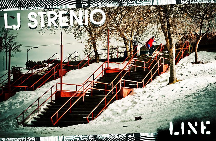 Line Skis Poster - LJ Strenio