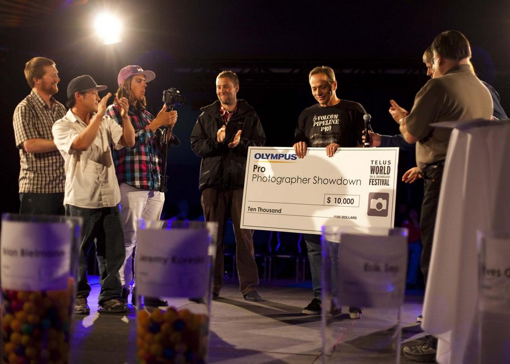 The WSSF Pro Photographer Showdown Awards - Photo: Vince @ SBC Skier Magazine