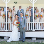 Wedding photography at St. Mary's Chruch in Park City, Utah
